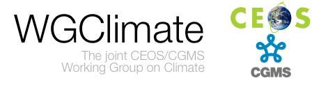 Climate Monitoring from Space - Joint CEOS/CGMS Working Group